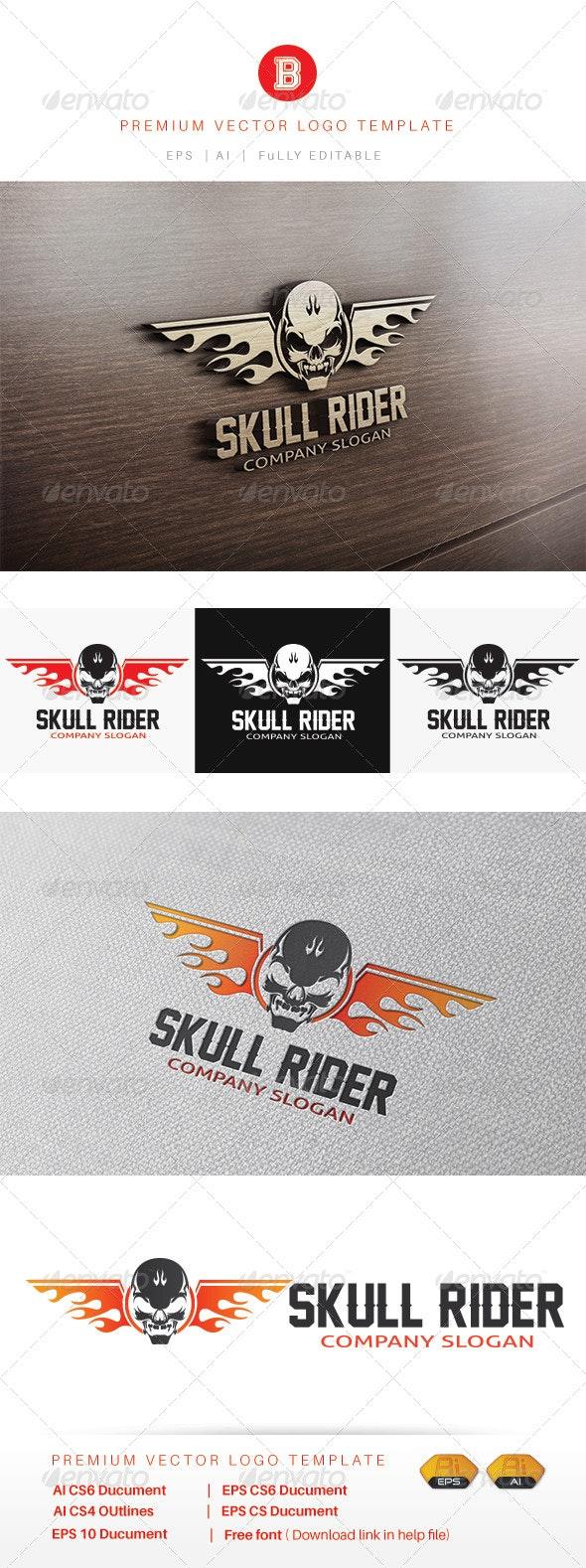 Skull Rider - Humans Logo Templates